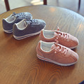 2017 Spring Breathable Children Sneakers Real Leather Boys Sports Shoes for Girls Casual Sneakers Brand Kids Run Shoes