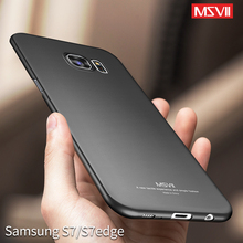 Msvii for Samsung Galaxy S7 Edge Case for Samsung Galaxy S7 Case Luxury Thin 360 Full Protection PC Matte Hard Phone Cover