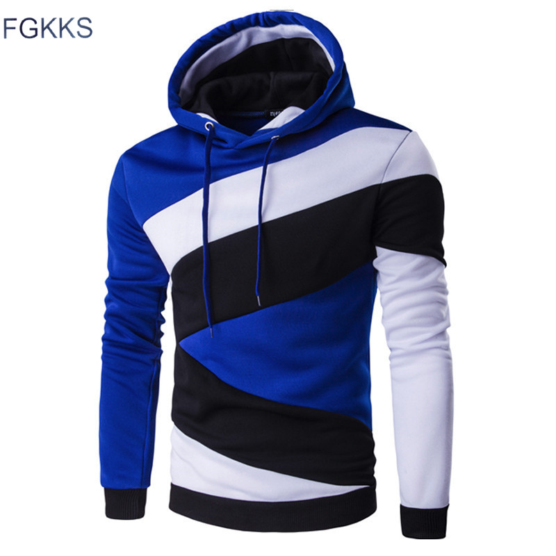 FGKKS Male Print Sweatshirt Mens Hoodies Tracksuit