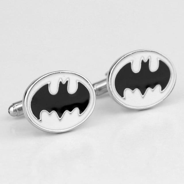 Silver Plated Batman Cufflinks