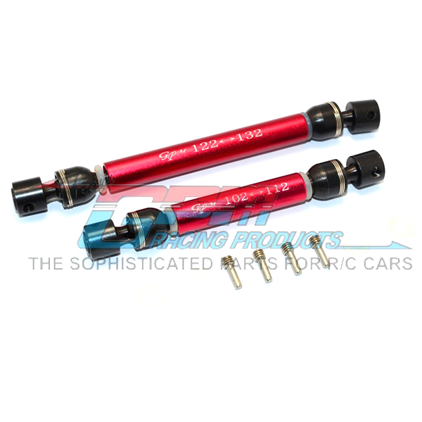 TRAXXAS TRX-4 TRX4 82056-4 Aluminum alloy canister steel CVD front/rear centre axis-set TRX4037SA super light free shipping traxxas trx 4 trx4 82056 4 alloy adapters front rear all can use hex 17mmsix angle 19mm long set trx4 17x19 2