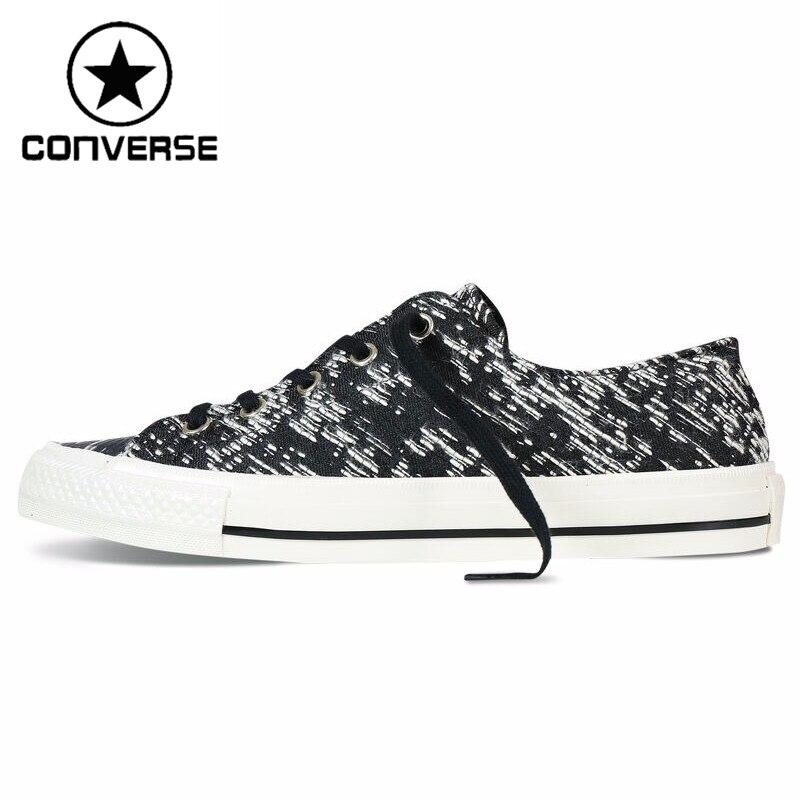 Prix pour Original Nouvelle Arrivée Converse Femmes de Planche À Roulettes Chaussures Toile Sneakers