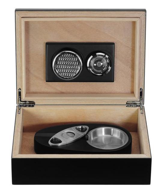 type  Luxury  Cedar Wood Cigar Humidor Pretty Storage Box