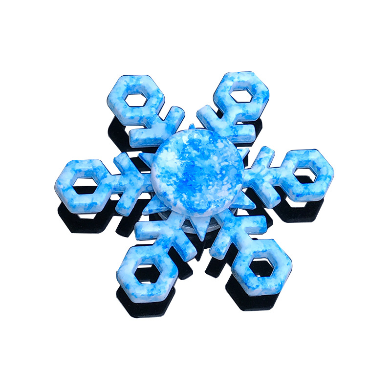 New Snowflake Fidget Spinner EDC Hand Spinners Autism ADHD Birthday Present Kids Christmas Gifts Metal Finger Toys SpinnersNew Snowflake Fidget Spinner EDC Hand Spinners Autism ADHD Birthday Present Kids Christmas Gifts Metal Finger Toys Spinners
