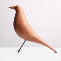 Handmade Rosewood House Bird Home Decoration Furnish Art Craft Birthday Gift Mascot Wooden Bird