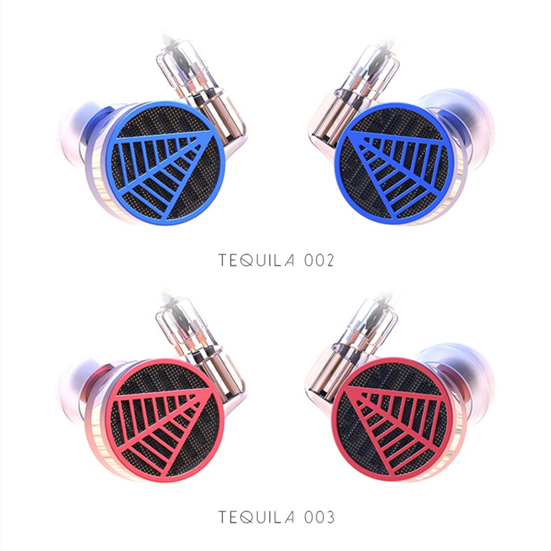 2018 TFZ TEQUILA 1 HiFi Audiophile 2-pin 0.78mm Hifi Music Monitor Studio Detachable In-ear Earphone IEMS Dynamic MMCX Earbuds