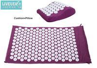 2pcs Cushion Pollow Yoga Acupuncture Massage Cushion Mattress Massage Cushion 1pc Free Shipping