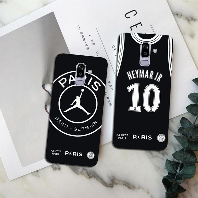 a53fec9c5 PSG Football Jersey Jordan 23 Mbappe 7 Neymar 10 soft TPU Phone Cases For  Samsung Galaxy S7 Edge S8 S9 Plus NOTE 9 NOTE 8