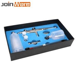 Image 3 - Airbrush Gun Set 0.2 0.3 0.5mm Nozzle Airbrush Pen Kit Dual Action Gravity Feed Spray Gun for Painting Cake Decorating Nail Art