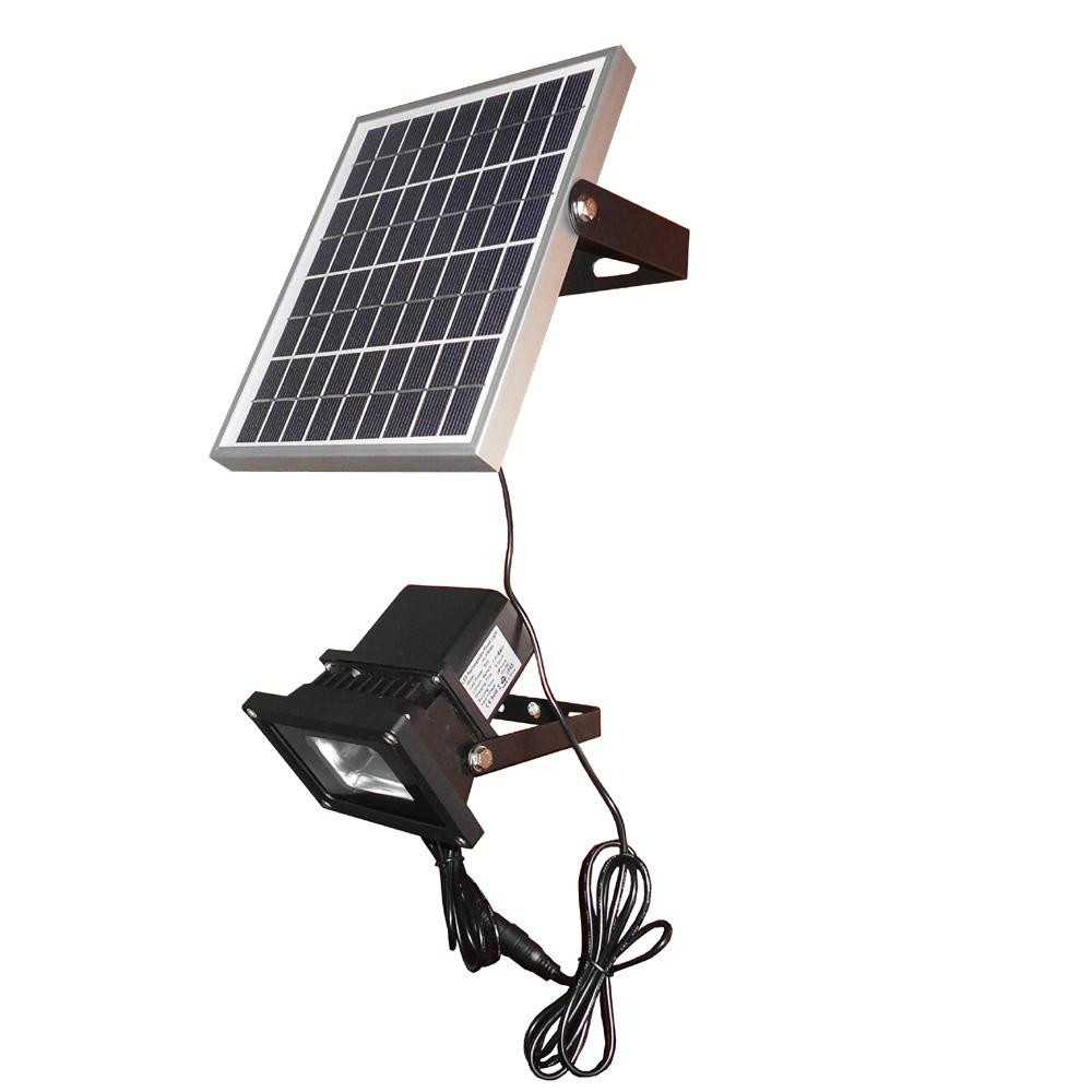 5W Solar Powered Panel LED Sensor Light Outdoor Lighting Spotlight Flood  Light Solar Street Light Lamps