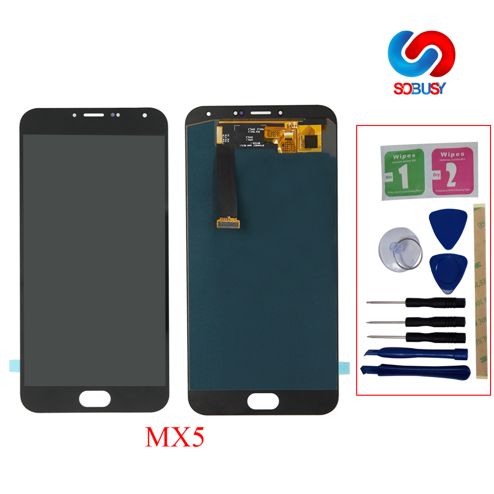 high quality For <font><b>MeiZu</b></font> <font><b>MX5</b></font> <font><b>LCD</b></font> <font><b>Display</b></font> <font><b>Touch</b></font> <font><b>Screen</b></font> digitizer Assembly <font><b>MX5</b></font> <font><b>LCD</b></font> touchscreen ekran <font><b>LCD</b></font> Repair Part With Frame+Tool image