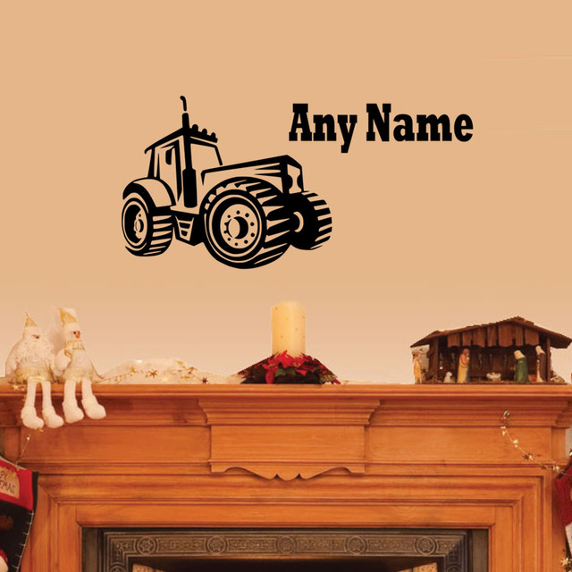 Farm tractor home decor - Home room ideas