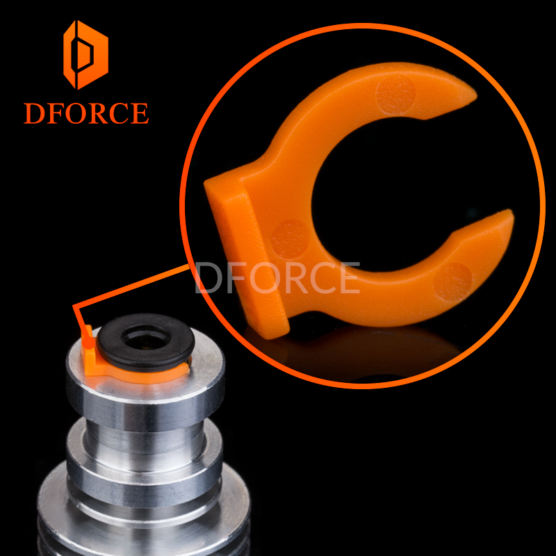 Embedded Bowden Coupling For Metal For E3D Heatsink Bowden Tube Collet For E3D Hotend HeatSink Heater Block Collet Clips