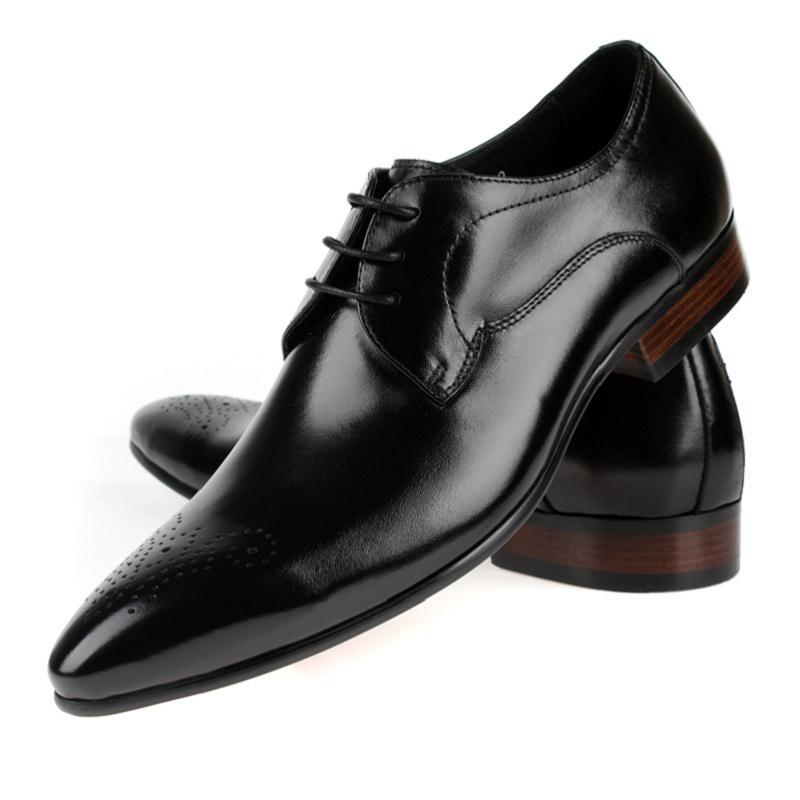 De Estilo Para Negócios Apartamentos Sapatos Masculinos Preto Confortável Couro Inglaterra Genuíno Formal Mycolen laranja Se Chaussures Homens Casamento Vestem 6ZPw8