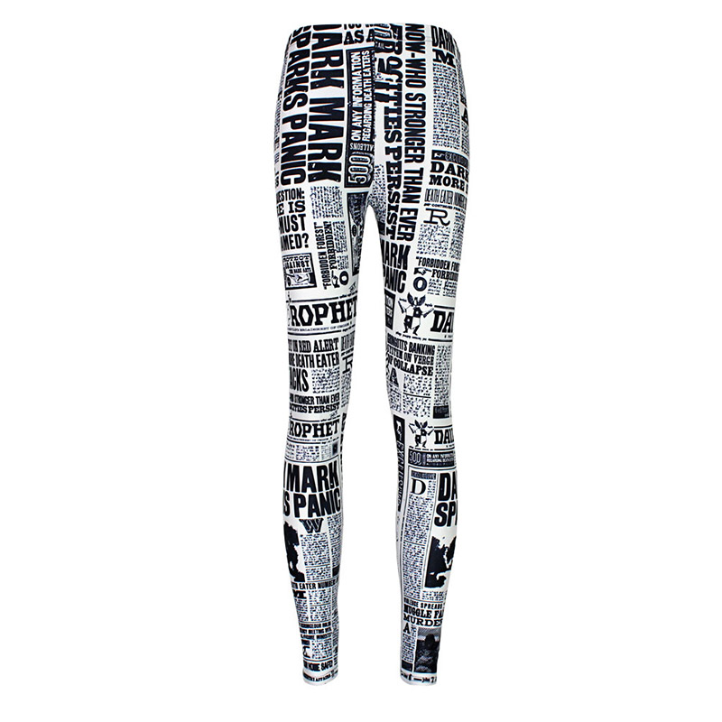 90da88d2208ad New Arrival 3715 Sexy Girl Women Ouija Number and letter Yes NO 3D Prints  Elastic Fitness Polyester Walking Leggings Pants