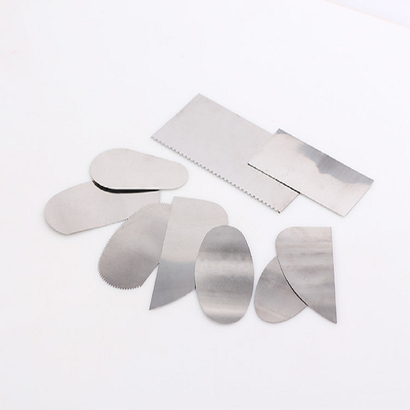 Stainless Steel 10pcs Clay Steel Scraper Carving Knife Mud Clay Tools Steel Cutter Ceramic Tools Steel Tool Set Sturdy Construction Tools