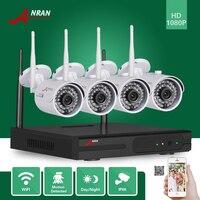 ANRAN P2P 1080P 4CH WIFI NVR HDMI Network 36 IR Indoor Outdoor IP Wireless Camera Surveillance