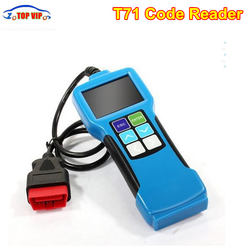 цены Free shipping T71 Code Reader For Heavy Truck And Bus OBD2 Code Reader With J1939 J1587 1708 Protocol OBD OBD2