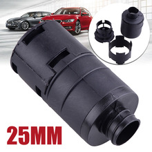 Mayitr 1pc 25mm Black Plastic Air Intake Filter Silencer 5.3*10.6cm for Webasto Eberspacher Auto Heater