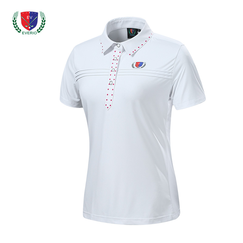 2018 new women golf sports T shirt short sleeve shirt top quality 4 color lady golf polo shirt girl jersey S~XXL 4 color