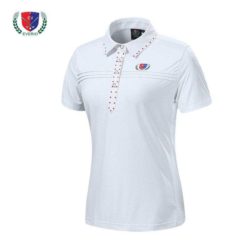 2018 nouveau femmes golf sport t-shirt à manches courtes petit haut de gamme 4 couleurs dame golf polo chemise fille jersey S ~ XXL 4 couleurs