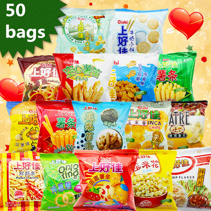 Chinese Snacks Potato Chips Children S Best Gift Mix Taste