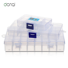 DONQL Fishing Tackle Box Compartments Storage Case for Carp Fishing Ac