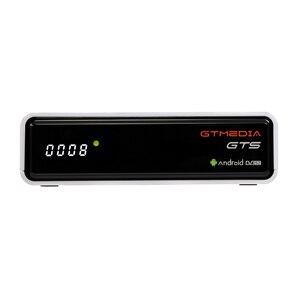 Image 1 - TV, pudełko Android 6.0 2GB + 8GB Amlogic S905D DVB S/S2 odbiornik satelitarny dekoder GTmedia GTS dekoder dla Smart TV z pilotem 4K