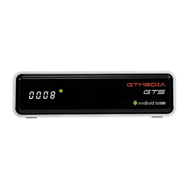 TV, pudełko Android 6.0 2GB + 8GB Amlogic S905D DVB S/S2 odbiornik satelitarny dekoder GTmedia GTS dekoder dla Smart TV z pilotem 4K