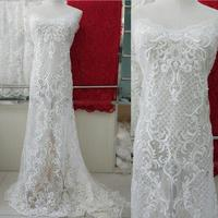 2017 New Bridal Beading Lace Fabric ,Lace Fabric for Wedding Dress