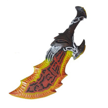 God of War 3 Ghost of Sparta Kratos Blades of Chaos Sword 1:1 PU In Anime Cosplay PU Action Figure Collectible Model Toy 65cm