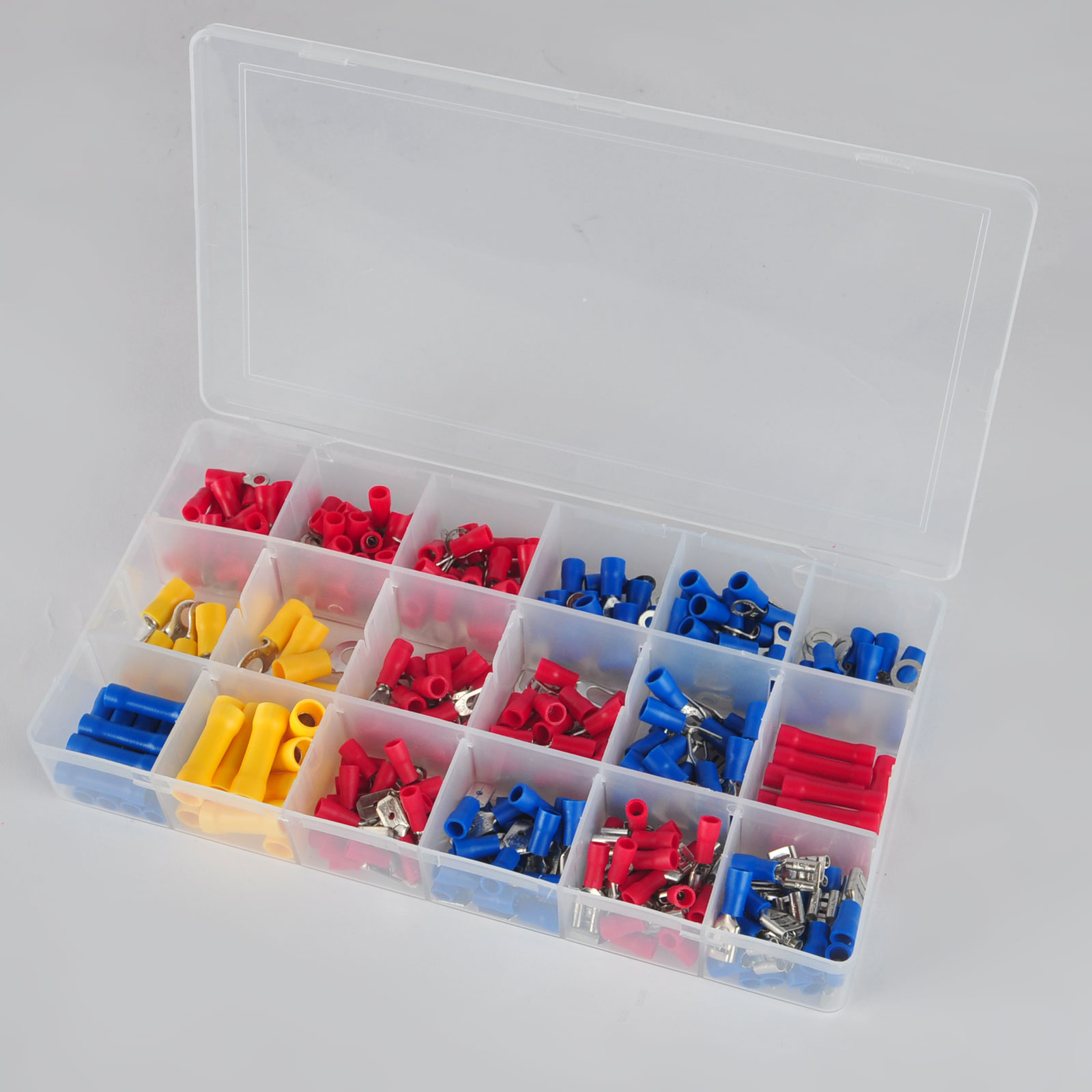 300pcs/set Assorted Insulated Crimp Terminals Electrical Wire Connector Butt Kit Set For Repair Tools pro skit sd 2310 100 pcs assorted power bits set repair kit