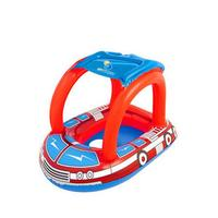 Cute Kids Baby Child Inflatable Swimming Laps Pool Swim Ring Seat Float Boat Water Sports