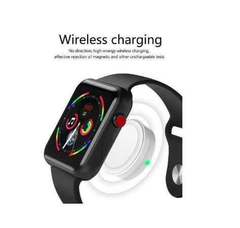 Reloj inteligente de serie Bluetooth rastreador de ritmo cardíaco 4 42mm reloj inteligente para apple watch iphone 6 7 8 X teléfono Samsung sony Android