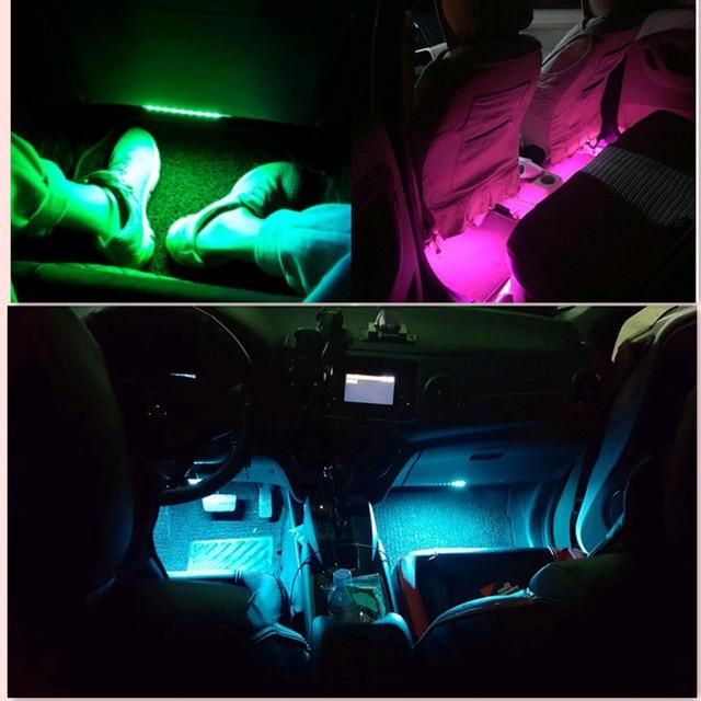New Style Car Interior Led Neon Lamp For Fiat Punto 500 Stilo Bravo
