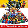 2017 64pcs LOT Marvel DC Suoer Heroes Batman Deadpool Iron Man Harley Quinn Robin Building Blocks