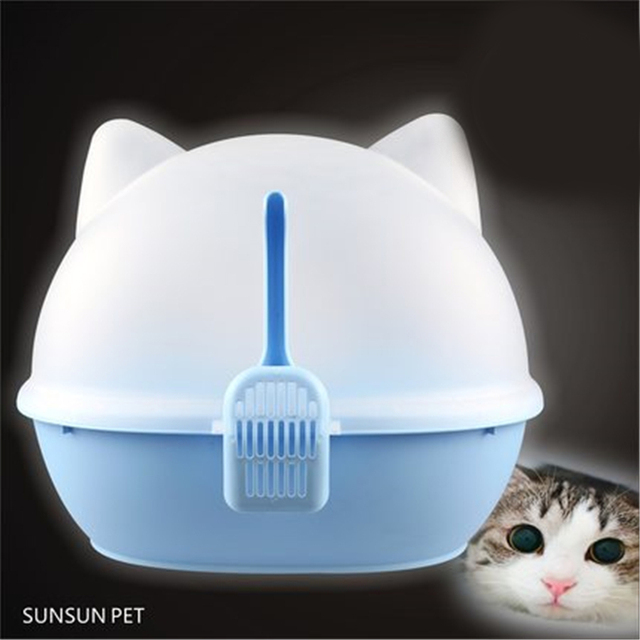 Plastic Pet Cat Litter Crystals Scoop Sand Shovel Box Products Supplies Animal Products Sand Litter Box Cat Toilet Cats DDM2451