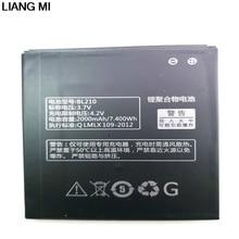 Высокое качество BL210 для lenovo A536 A606 S820 S820E A750E A770E A656 A766 A658T S650 телефон замены батареи с держателем для подарок