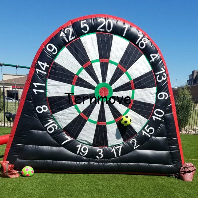 Giant PVC Inflatable Dart Board, Inflatable Foot Darts, Inflatable Soccer Dart , Inflatable Darts Game,Big Balls IncludedGiant PVC Inflatable Dart Board, Inflatable Foot Darts, Inflatable Soccer Dart , Inflatable Darts Game,Big Balls Included