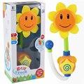 Электронные Купание Душ Спрей BathToys Sunfllower Душ Ванная Комната Детские Игрушки