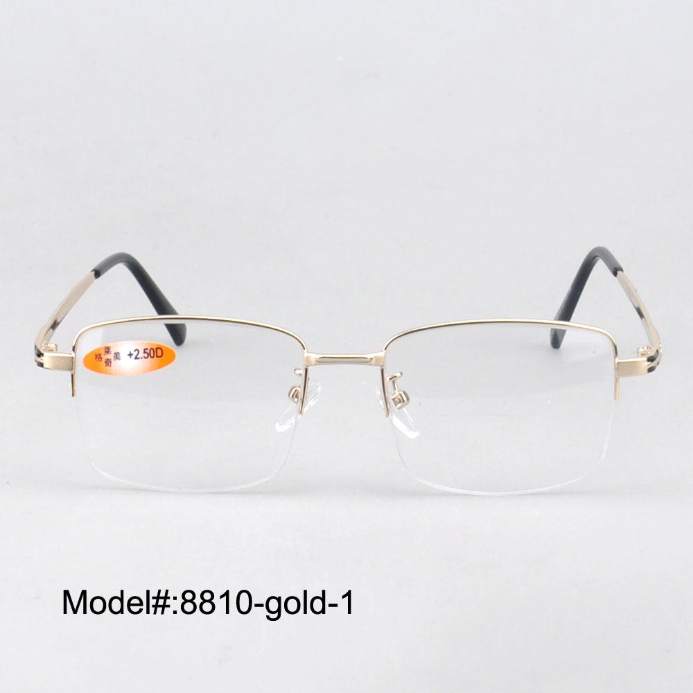 MY DOLI Bifokale læse briller + 100 ~ + 400 til singht Hyperopia - Beklædningstilbehør