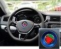 Car Steering Wheel Logo Ring For Volkswagen VW Golf 6 7 MK6 MK7 Jetta MK5 MK6 POLO CC Passat B6 B7 TIGUAN  accessories