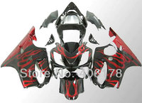Hot Sales,2001 2002 2003 F 4i Fairing For Honda CBR600 F4i 2001 2003 CBR 600 01 03 Flame Motorcycle Fairings (Injection molding)