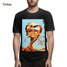 Fear And Loathing In Las Vegas T-Shirt Fear And Loathing In Las Vegas Camiseta Leisure New Arrival Unique Design Camiseta fear and loathing at rolling stone