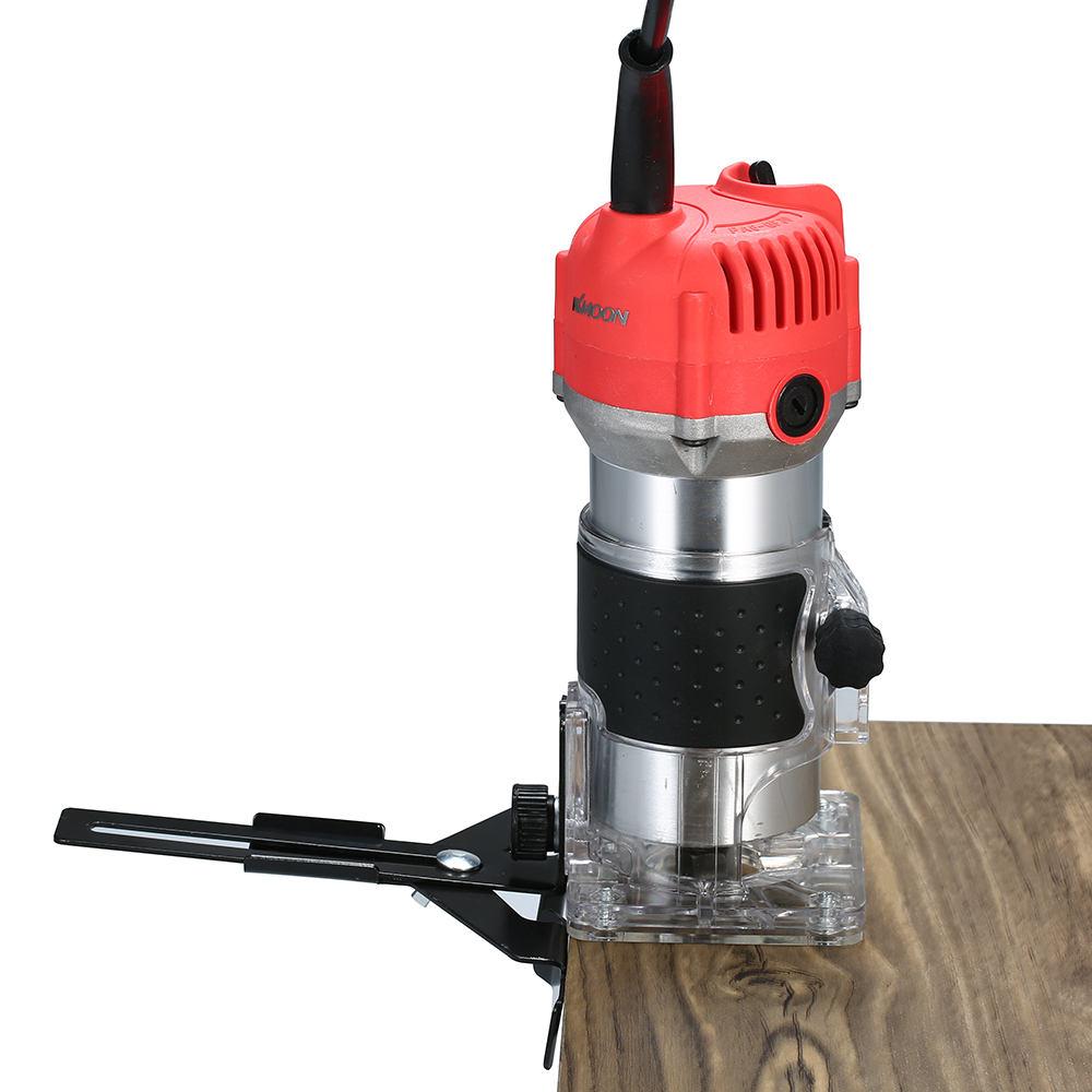220V 800W Electric Trimmer Handheld Laminate Edge Trimmer Collet Wood Router Woodworking Milling Engraving Slotting Machine