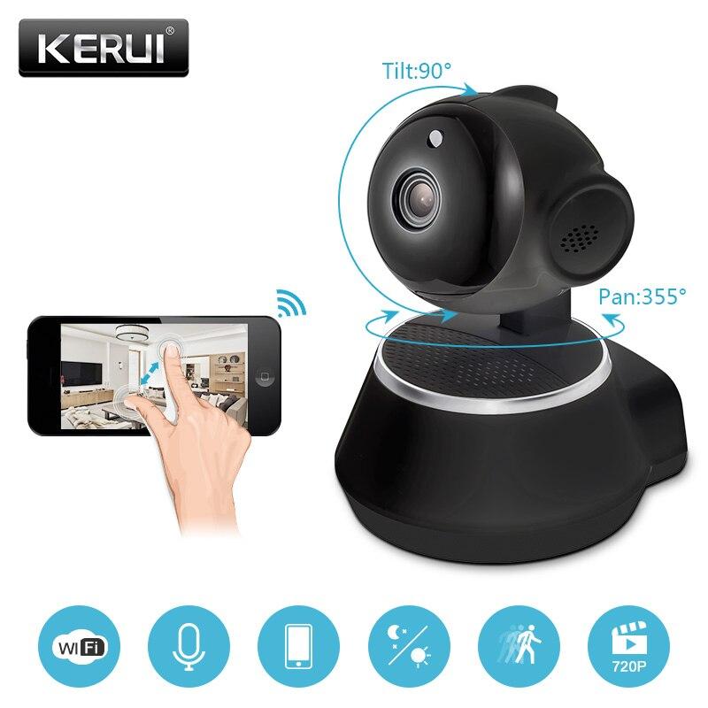 KERUI 720P IP Camera Wi-Fi Wireless Home Security Surveillance Camera IR-Cut Night Vision P2P CCTV PTZ Wifi Camera Baby Monitor