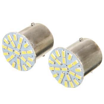 цена на 10pcs 24V 1156 BA15S 1206 22SMD LED Backup Light Cool White LED Car Reverse Turn Light Lamp Car Styling