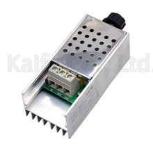 Regulador de voltaje electrónico, regulador de velocidad de 10000 W SCR BTA10