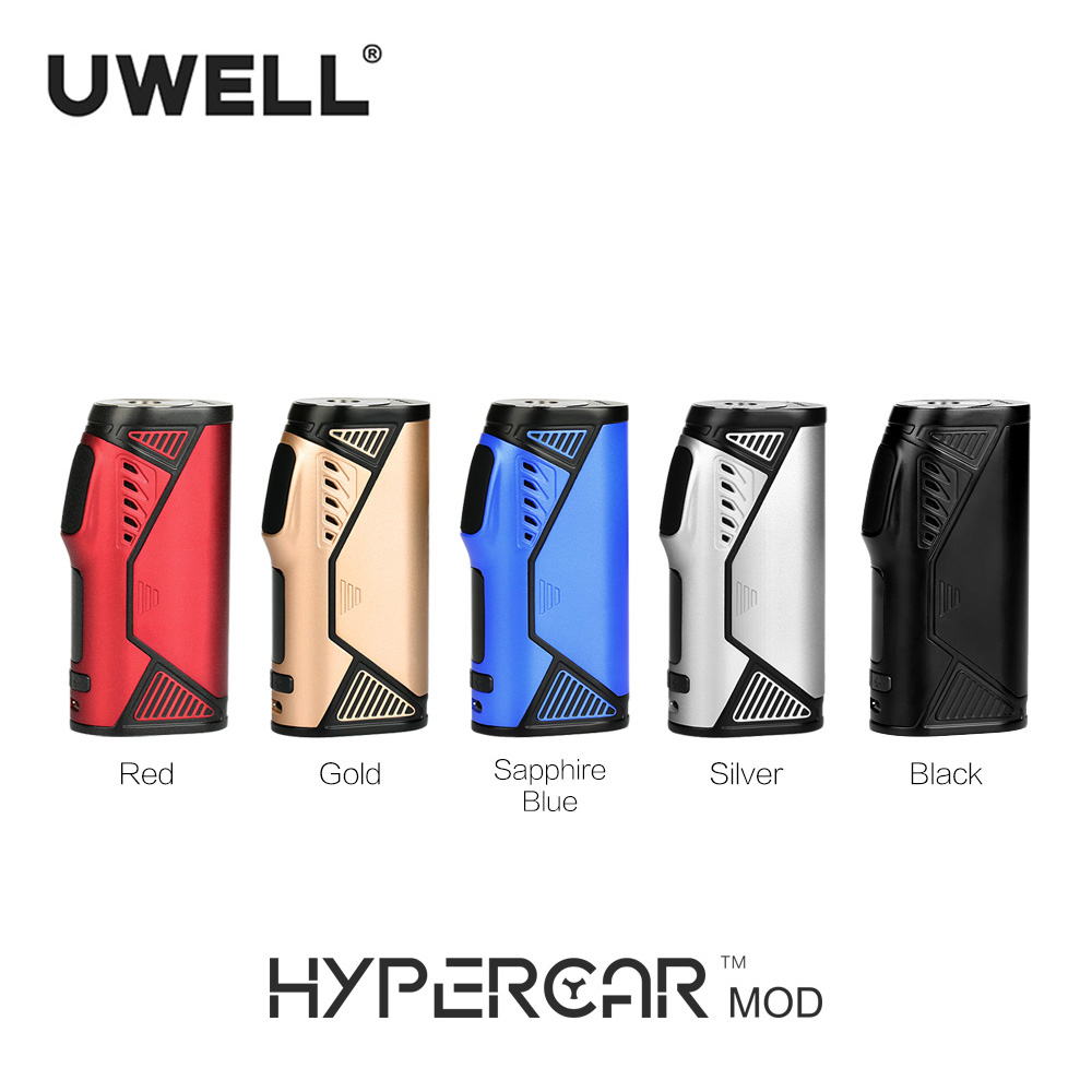 Uwell Hypercar 80W TC Box Mod Electronic Cigarette Compatible with Whirl Tank AtomizerUwell Hypercar 80W TC Box Mod Electronic Cigarette Compatible with Whirl Tank Atomizer