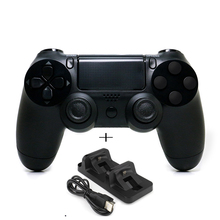 Bluetooth Wireless Gamepad Remote Controller with Dual charger for Sony Playstation 4 PS4 Joystick
